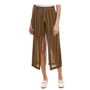 J.O.A. Skirts - J.O.A. Striped Skirt